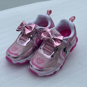 Other - Minnie Mouse Light-Up Toddler Girls Athletics Shoe